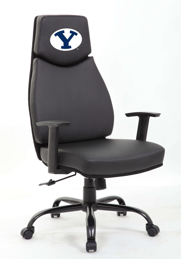 Image: BYU Cougars College Executive Office Chair | Proline Tailgating
