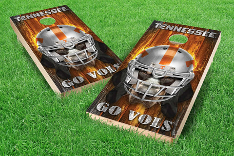 Image: Tennessee Volunteers Cornhole Board Set - Mascot (w/Bluetooth Speakers) | Proline Tailgating