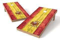 Image: Spain Flag Single Cornhole Board -Vintage | Proline Tailgating
