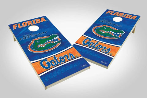 Image: Florida Gators 2x4 Cornhole Board Set - Wild | Proline Tailgating