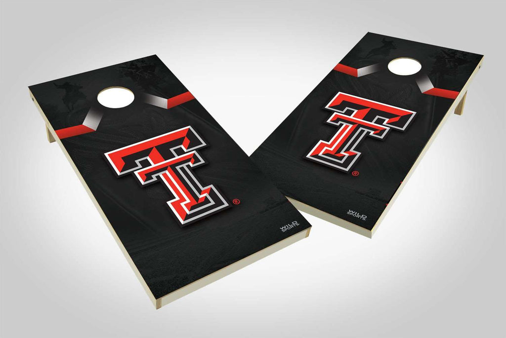Image: Texas Tech Red Raiders Cornhole Board Set - Wild | Proline Tailgating