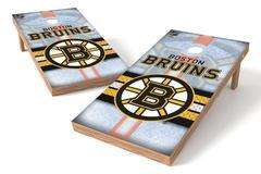 Image: Boston Bruins Single Cornhole Board - Wild | Proline Tailgating