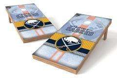 Image: Buffalo Sabres Single Cornhole Board - Wild | Proline Tailgating
