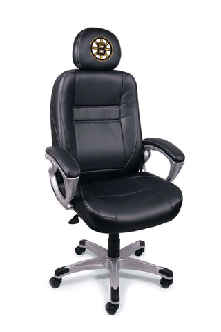Image: Boston Bruins Executive Office Chair | Proline Tailgating