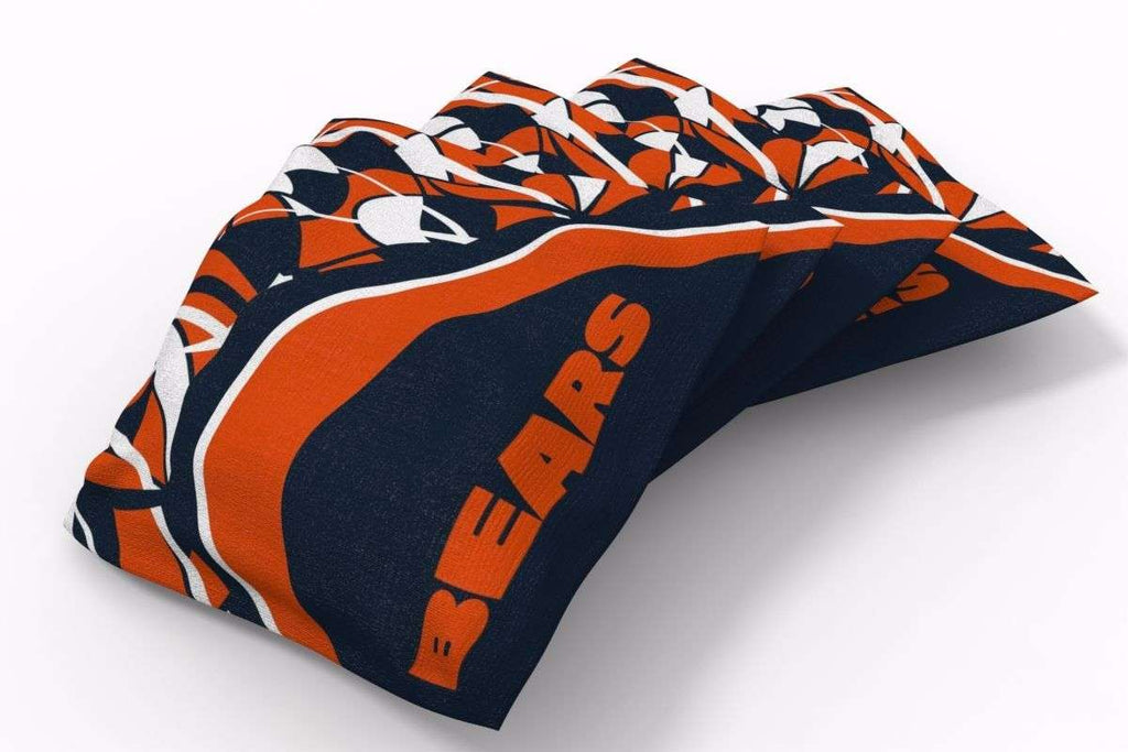 Image: Chicago Bears Millennial S Bend Bean Bags-4pk (A) | Proline Tailgating
