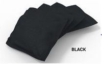 Image: Product Builder Black Solid Bean Bags-4pk | Proline Tailgating