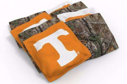 Image: Tennessee Volunteers 2x4 Cornhole Board Set - Realtree Max-1<sup>®</sup> Camo | Proline Tailgating