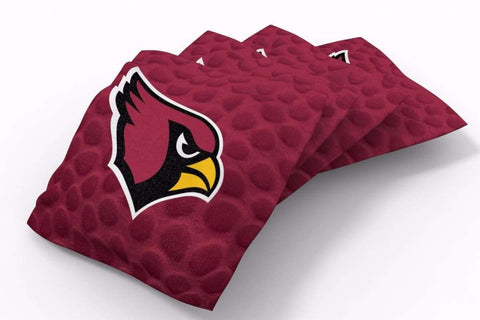 Image: Arizona Cardinals Pigskin Design Bean Bags-4pk (B) | Proline Tailgating