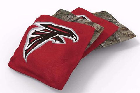 Image: Atlanta Falcons RealTree Camo Bean Bags-4pk (B) | Proline Tailgating