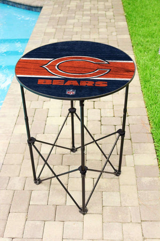 Image: Chicago Bears Round Table | Proline Tailgating