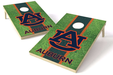 Image: Auburn Tigers 2x3 Cornhole Board Set - Field | Proline Tailgating