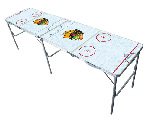 Image: Chicago Blackhawks Tailgate Table | Proline Tailgating