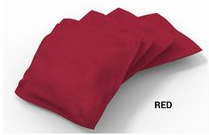 Image: Product Builder Red Solid Bean Bags-4pk | Proline Tailgating