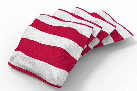 Image: Stars & Stripes Patriotic Bean Bags-4pk (Stripes) | Proline Tailgating