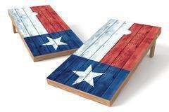 Image: Texas State Flag Single Cornhole Board-Vintage | Proline Tailgating