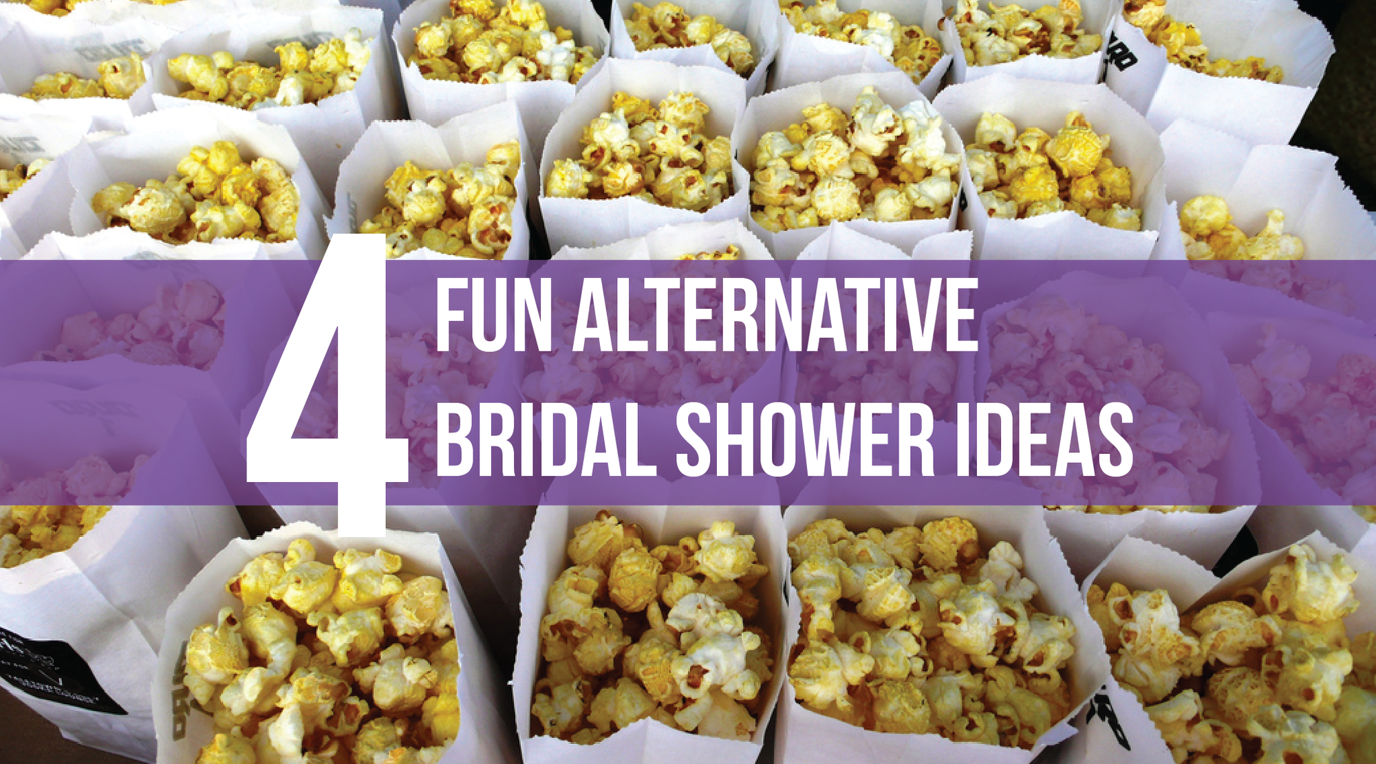 4 Fun Alternative Bridal Shower Ideas