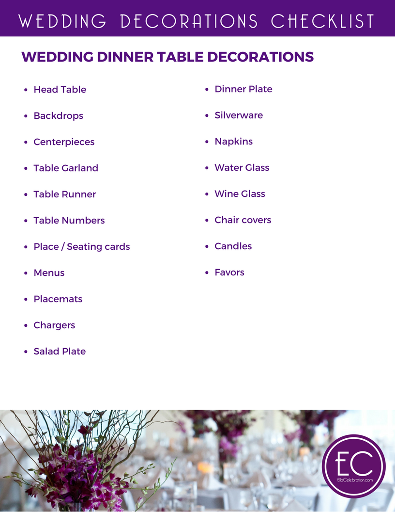 Easy Ways to Party Plan on a Budget: Free Printables Wedding Decorations