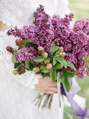 spring wedding flowers hyacinth