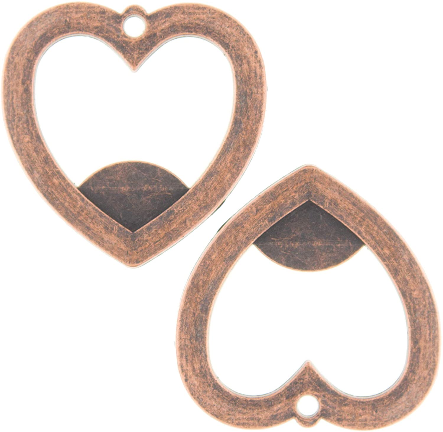 Heart Bottle Opener - Copper