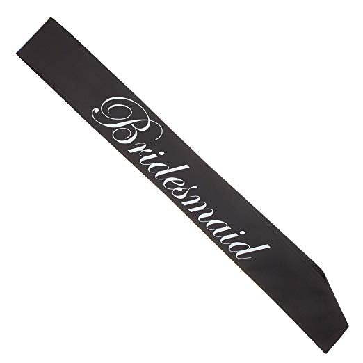 Bridesmaid Sash (Set of 1)
