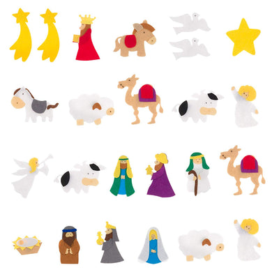 Advent Calendar - Nativity Stable