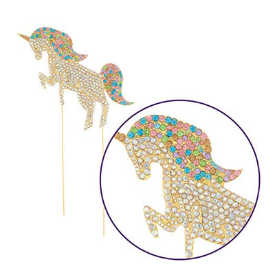 Unicorn Cake Topper - Gold