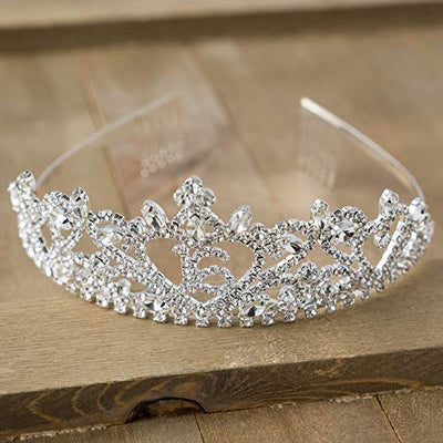 Sweet 16 Tiara - Heart