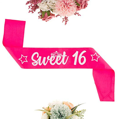 Sweet 16 Tiara and Sash - Heart