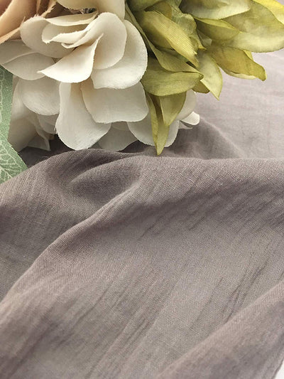 Crinkle Table Runner - Gray