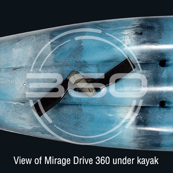 Using The Hobie Mirage Drive 360 For Ultimate Boat Control