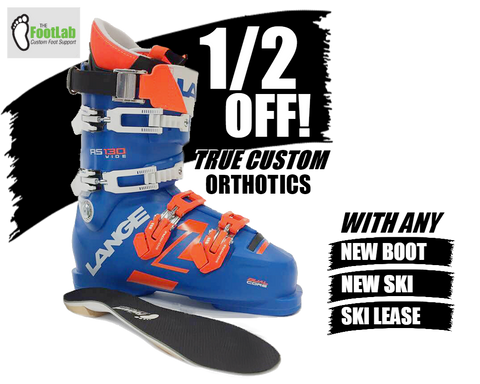 50% off custom ski boot orthotic with purchase Hi Tempo Ski Shop