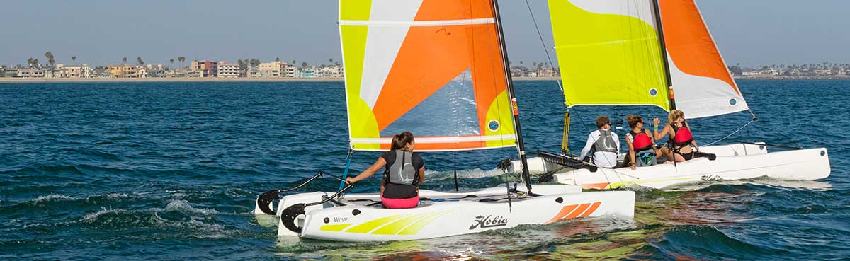 Hobie Wave Sailboat