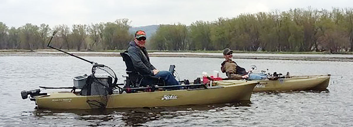 Jay S. Fishing From A Hobie Pro Angler 12 Kayak
