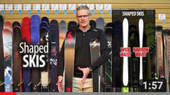 Learn About Shaped Skis