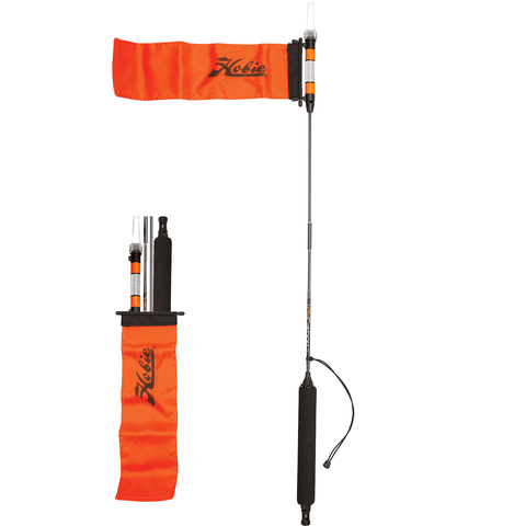 HOBIE Visicarbon Pro Safety Flag Light Combo