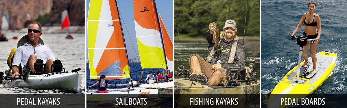 Hobie Kayaks and Sailboats