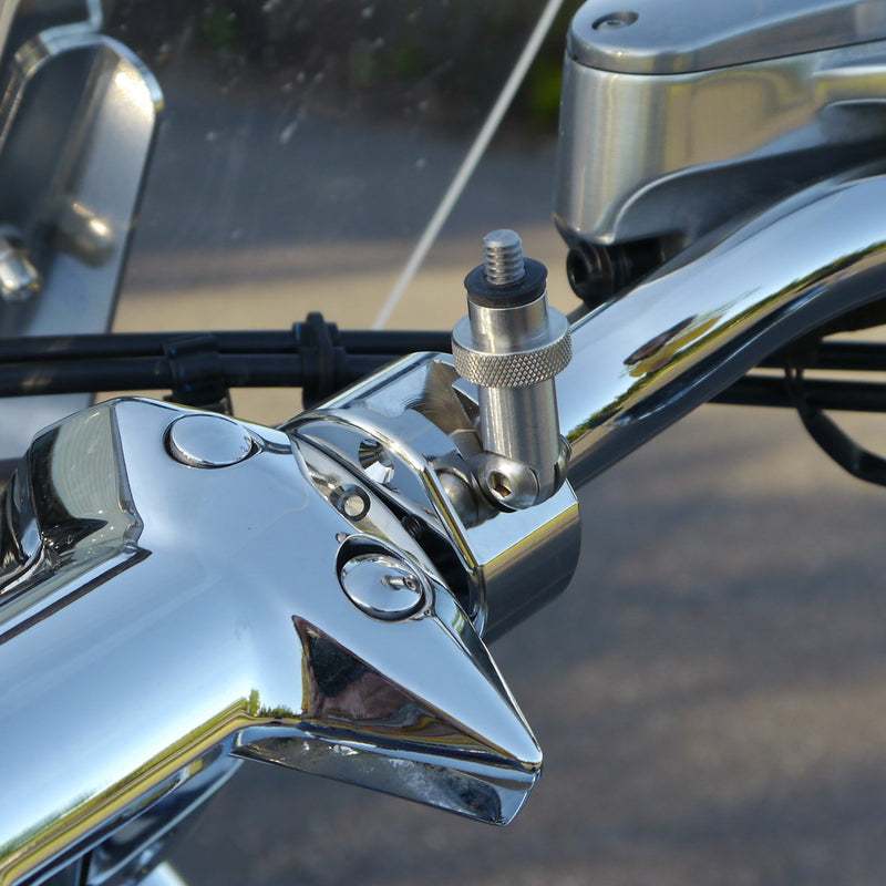 """Shortie"" Camera Mount - Handlebar (Chrome)"