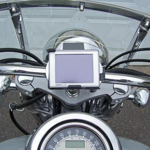 eCaddy Ultra-Swivel Gadget Mount for Handlebar (Chrome)