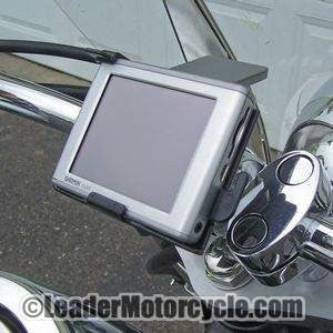 eCaddy Diamond Garmin Nuvi GPS Mount - Handlebar (Chrome)