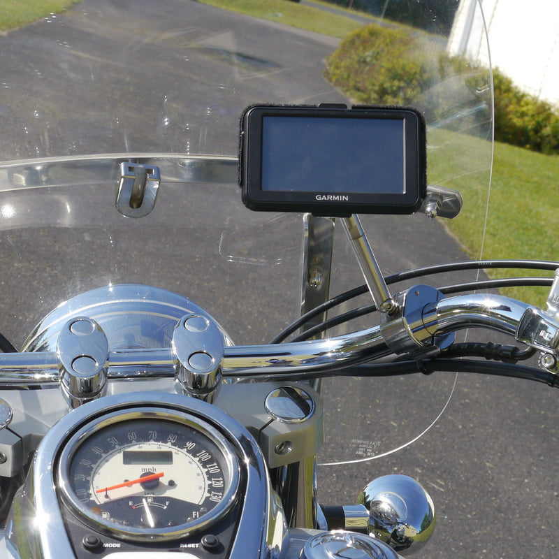 GPS eCaddy Ball Mount w/Extension - Handlebar (Chrome)