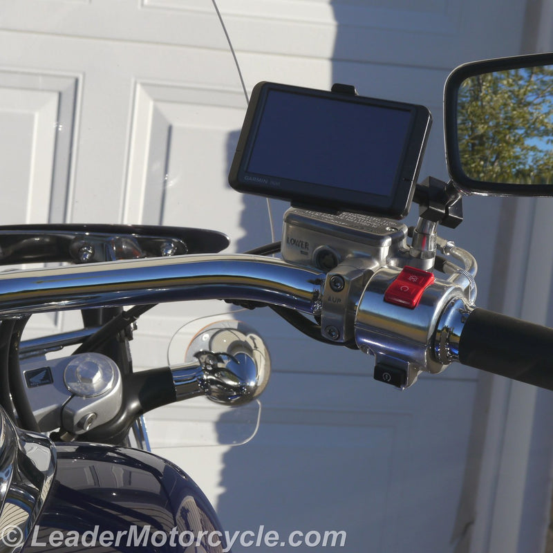 Urban GPS Ball Mount - Mirror Stem (Black)