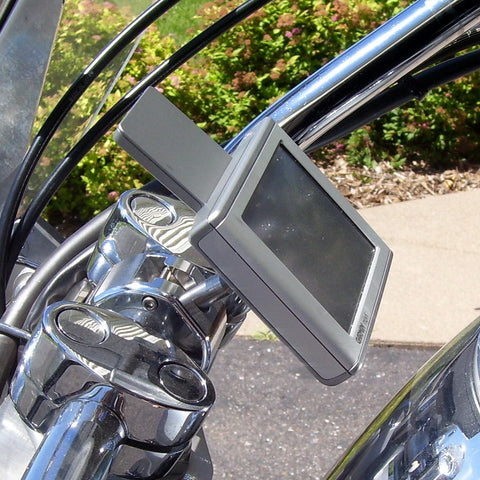 eCaddy Ball GPS Mount - Handlebar (Chrome)