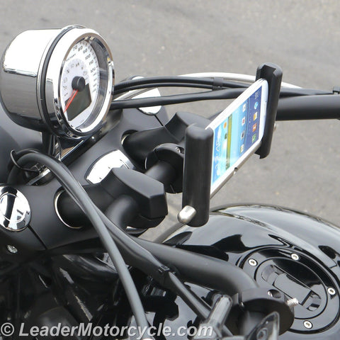 Urban Slide Phone Mount (Horizontal) for Handlebar (Black)