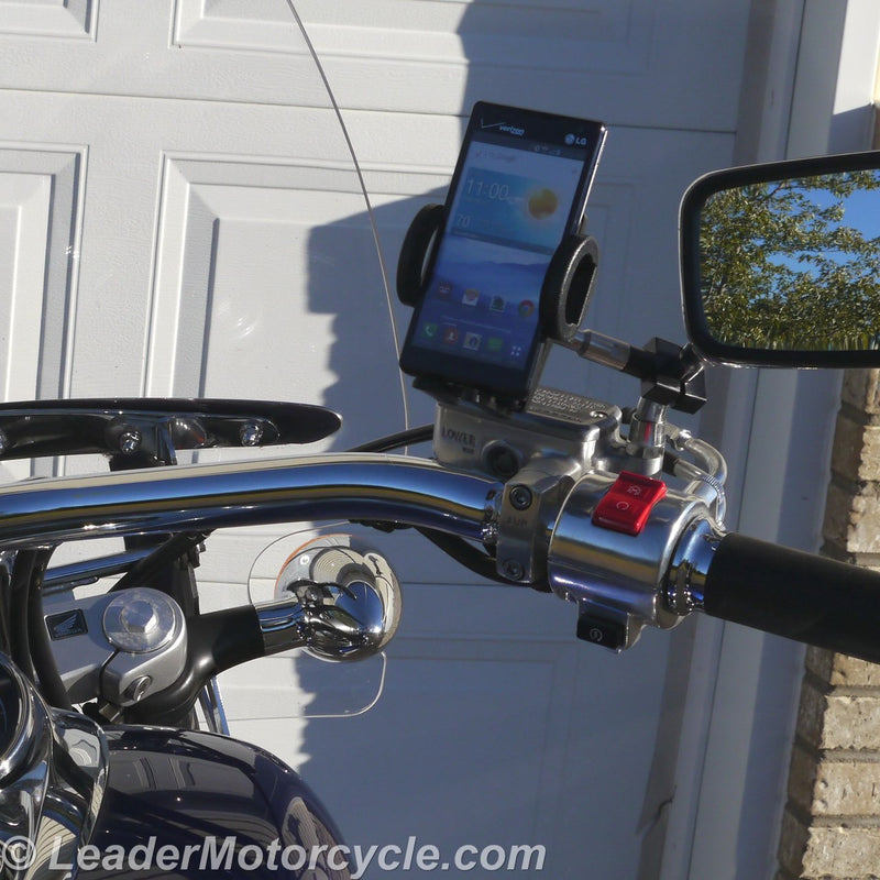 Urban Standard Phone Mount for Mirror Stem (Black)