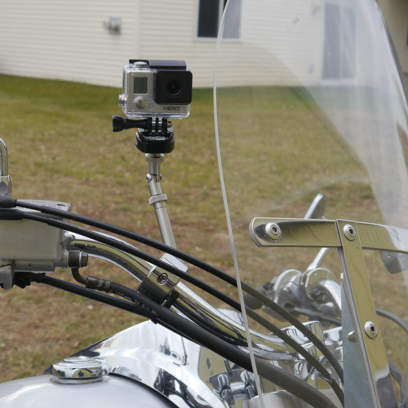 Swivel-CAM Camera Mount - Handlebar (Chrome)