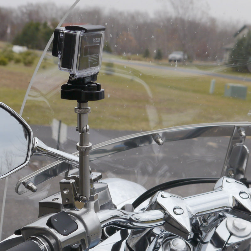 Swivel-CAM Camera Mount for Mirror Stem (Chrome)