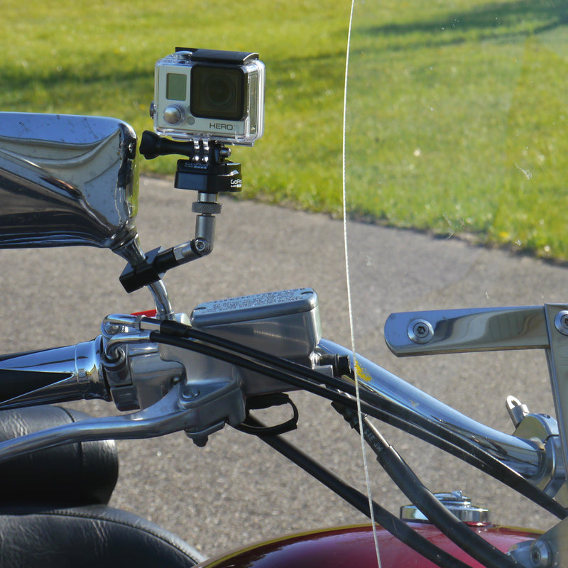 "Urban ""Shortie"" Camera Mount for Mirror Stem (Black)"