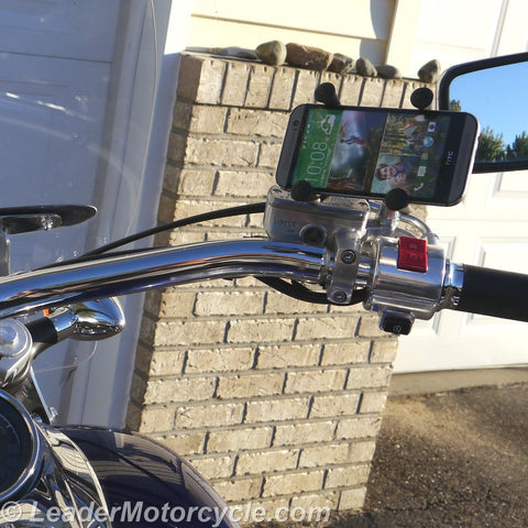 Urban X-Grip Adaptor Mount for Mirror Stem (Black)