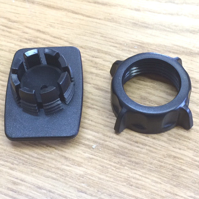 T-Slot to Ball Adaptor Plate w/Ring