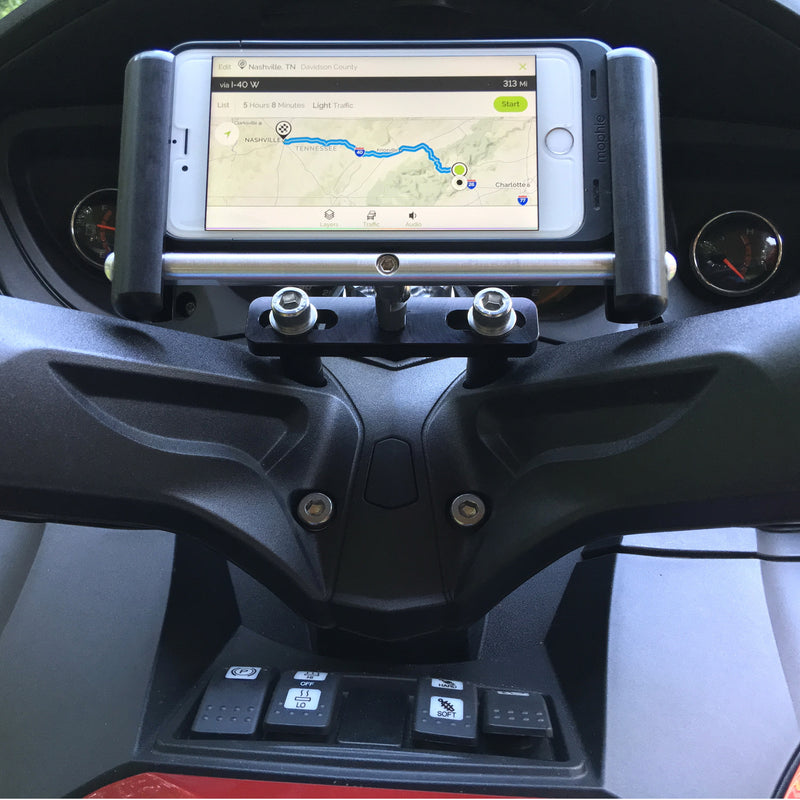 Urban Slide Phone & GPS Mount (Horizontal) - Can-Am Spyder